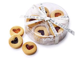 DEAN & DELUCA,ディーンアンドデルーカ,ハートジャムサンドクッキーアソート10pcs,バレンタイン,2020,
