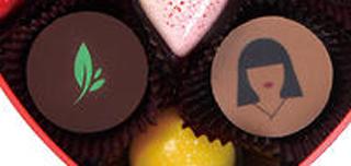 パスカル カフェ,アムールクール・ジャポネ,和のデザインのチョコレート,Pascal Caffet,