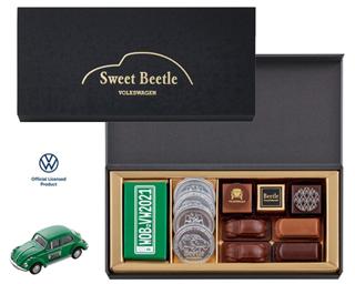 ビートル,スイートビートル,税込2700円,グリーンのビートルミニカー付きのチョコレートアソート,バレンタイン,2021,チョコレート,Beetle,Valentine,chocolate,