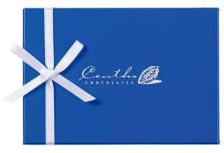 セントー,セントー セレクション 8の青色の箱,税込2160円,本体価格2000円,バレンタイン,2021,チョコレート,Centho Chocolates,Valentine,chocolate,