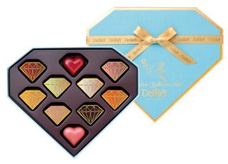 デルレイ,デルレイ ダイヤモンドBOX 10個入,税込5,940円,バレンタイン,2021,チョコレート,DelReY,Valentine,chocolate,