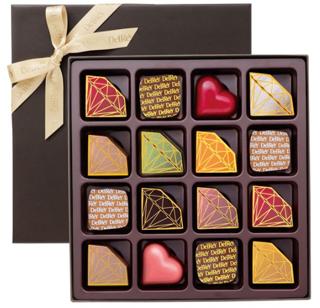 デルレイ,デルレイ セレクション16個入,税込8424円,バレンタイン,2021,チョコレート,DelReY,Valentine,chocolate,