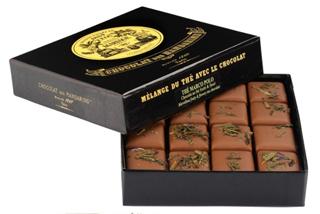 マリアージュ フレール,ショコラ デ マンダレン 紅茶のチョコレート マルコ ポーロ,箱に16粒の紅茶のチョコレートが入っている,箱のサイズは11X11X2.8cm,バレンタイン,2021,チョコレート,MARIAGE FRÉRES,CHOCOLAT des MANDARINS,Valentine,chocolate,