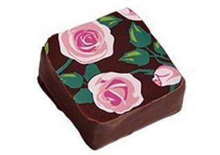 メサージュ・ド・ローズ,プリンセス・ガーデン,薔薇のイラストがプリントされたビターチョコ,バレンタイン,2021,メサージュドローズ,MESSAGE de ROSE,チョコレート,Valentine,chocolate,