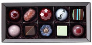 ナカムラチョコレート,ダークセレクション(DS10),10個入,税込3,974円,バレンタイン,2021,チョコレート,Nakamura Chocolate,Valentine,chocolate,