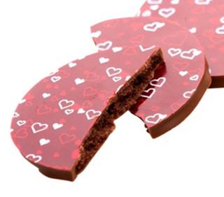パティスリー・サダハル・アオキ・パリ,サダハルアオキ,サブレ ショック ショコラ オレ,赤い色のチョコサブレ,バレンタイン,2021,チョコレート,pâtisserie Sadaharu AOKI paris,Valentine,chocolate,