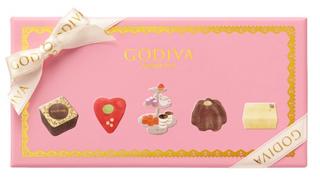 ゴディバ,ティータイム セレクションのパッケージ,本体価格2500円,ホワイトデー,2021,チョコレート,GODIVA,Whiteday,chocolate,