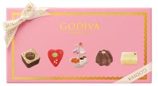 ゴディバ,ティータイム セレクション 12粒入のパッケージ,箱寸=11.5×21.6×3.7cm,ホワイトデー,2021,チョコレート,GODIVA,Whiteday,chocolate,