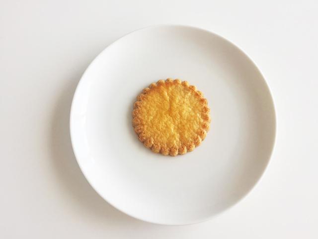 白いお皿にのったグーリブールのガレットピロー,