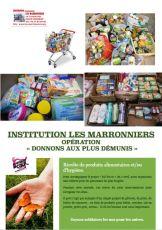 Affiche collecte alimentaire