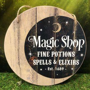 Panneau Magic Shop