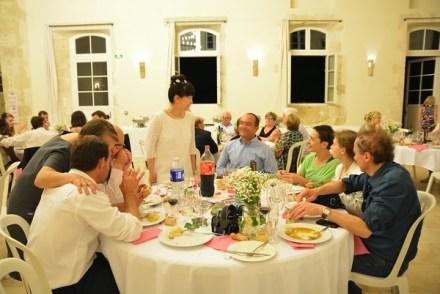 la table de la famille