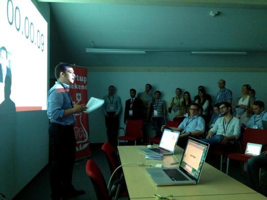 Session Pitch au Startup Weekend Jura