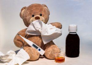 solutions pour un bébé malade