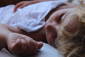 croûtes de lait bébé