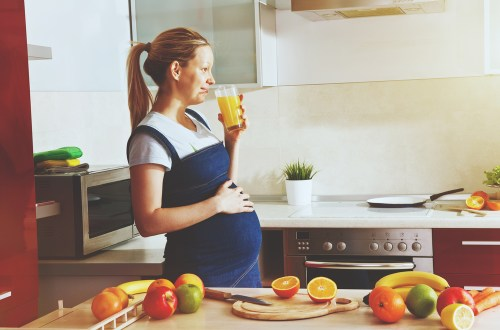 Consommation de fruits et légumes frais pendant la grossesse et l'allaitement