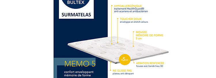 Avis Surmatelas Bultex Memo 5 Tests 2020 Du Guide Les Surmatelas