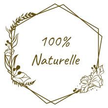 100% naturelle