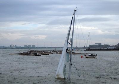 bateau coulé