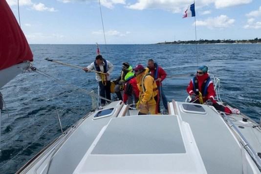 sécurité en mer récupérer homme à la mer