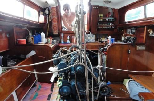 entretenir son moteur de voilier