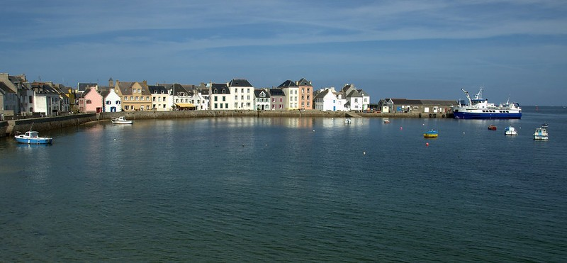 mouillages de l'ile de sein pointe du Finistère
