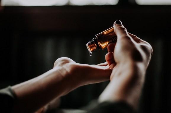 huile essentielle de menthe