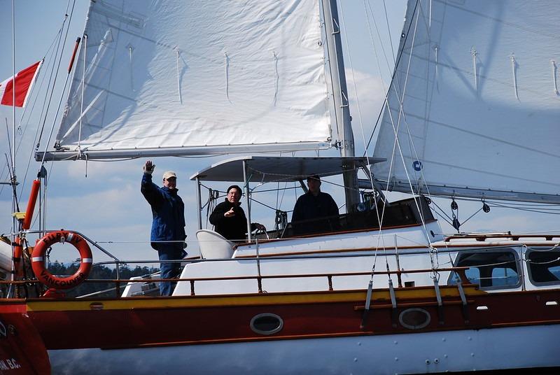 devenir skipper à 50 ans