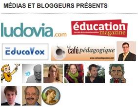 les bloggeurs et influenceurs de Ludovia
