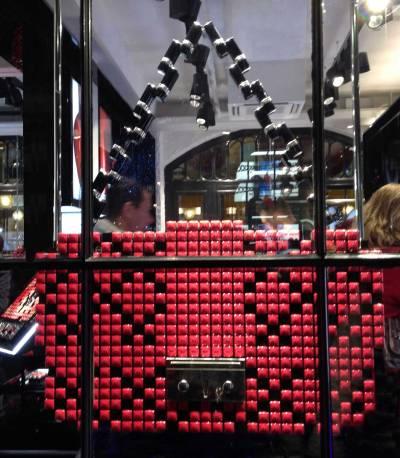 Sac Dior rouges à lèvres, Londres