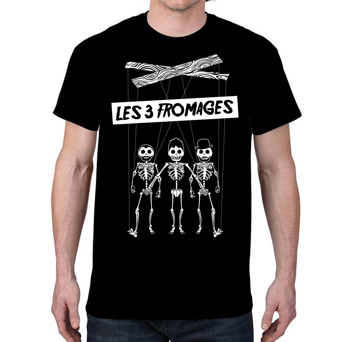 Les 3 Fromages T-shirt homme « Marionnettes »