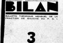 Roosevelt au gouvernail -Bilan Janvier 1934