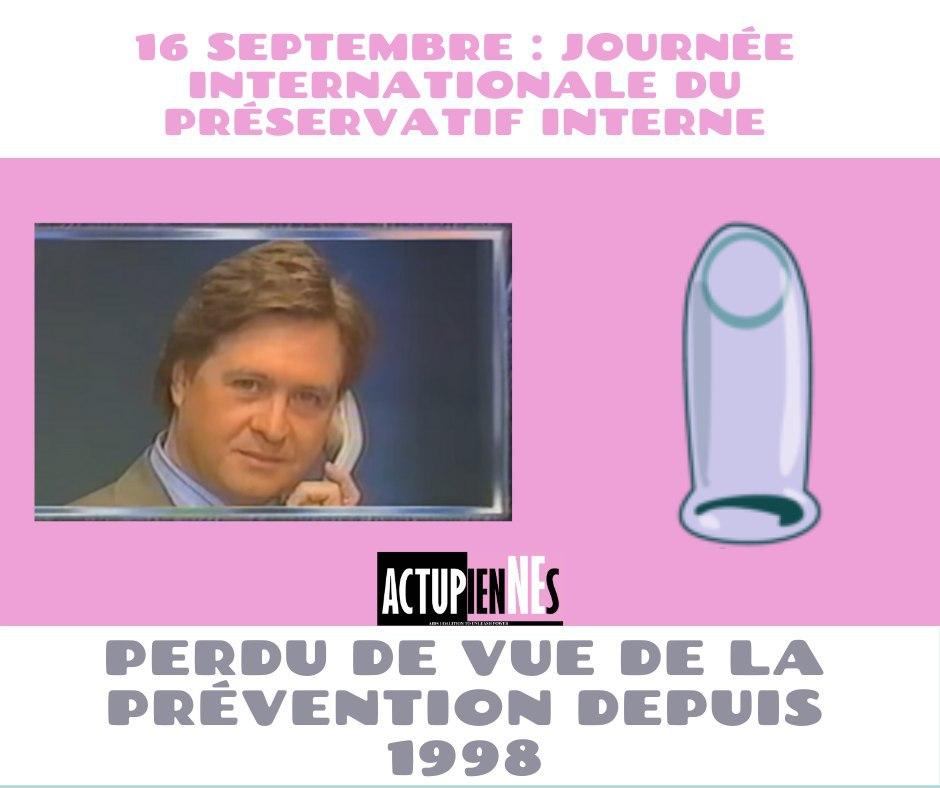 Préservatif interne : perdu de vue de la prévention depuis 1998