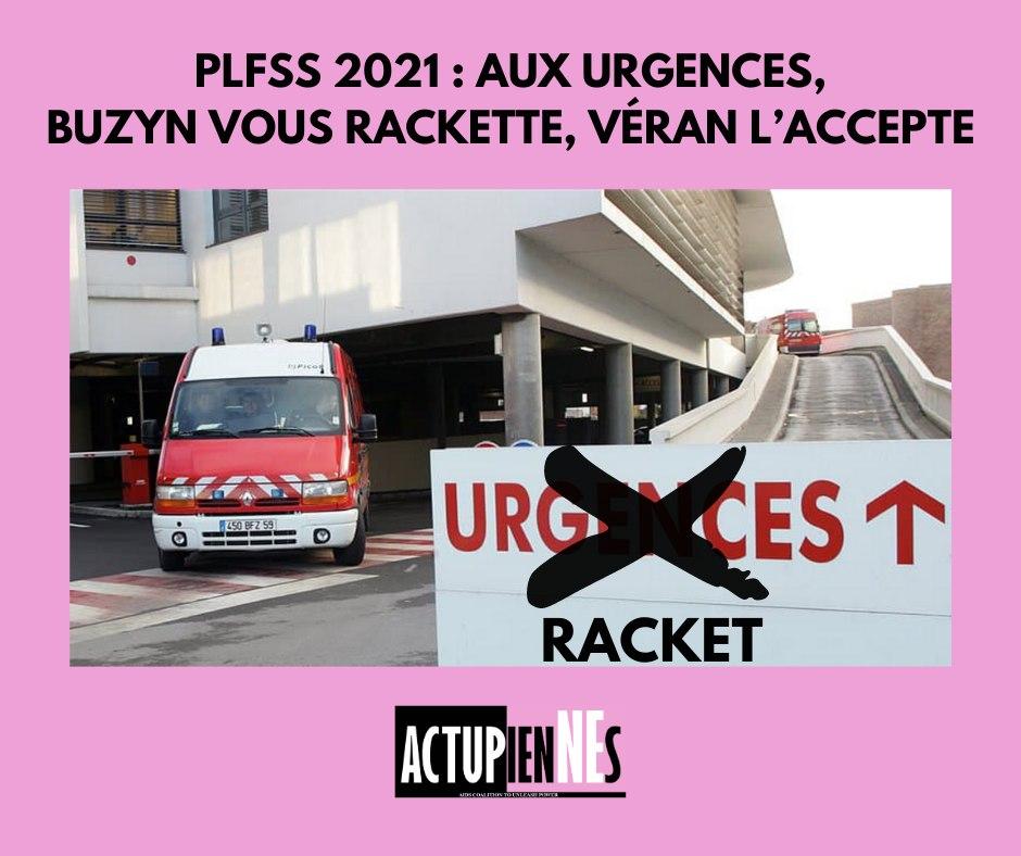PLFSS 2021 : aux urgences Buzyn vous rackette, Véran l'accepte