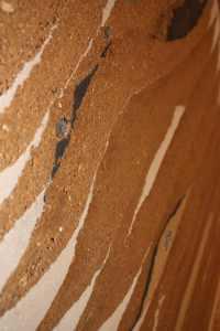 Création murale pisé - Les adobes