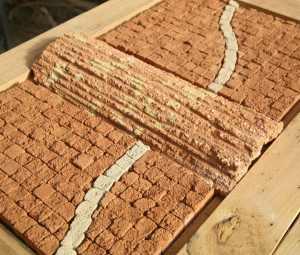 Tableau tuile et briques - Les adobes
