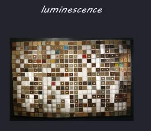 Tableau luminescence - Les adobes