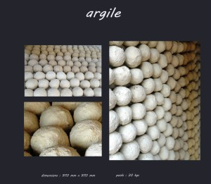 Tableau argile - Les adobes