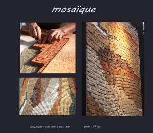 Tableau mosaique - Les adobes