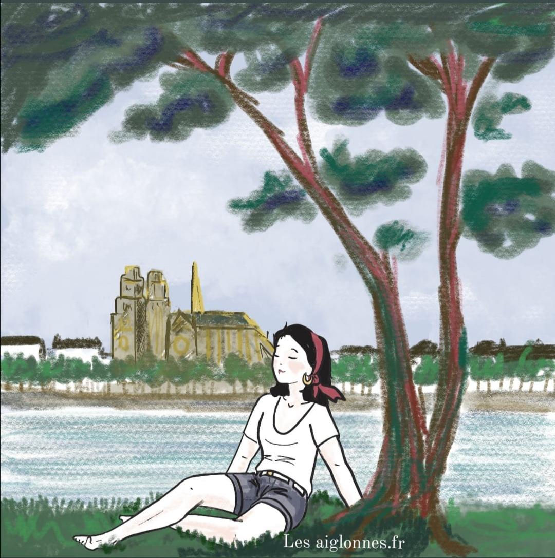 Une Aiglonnes à Orléans