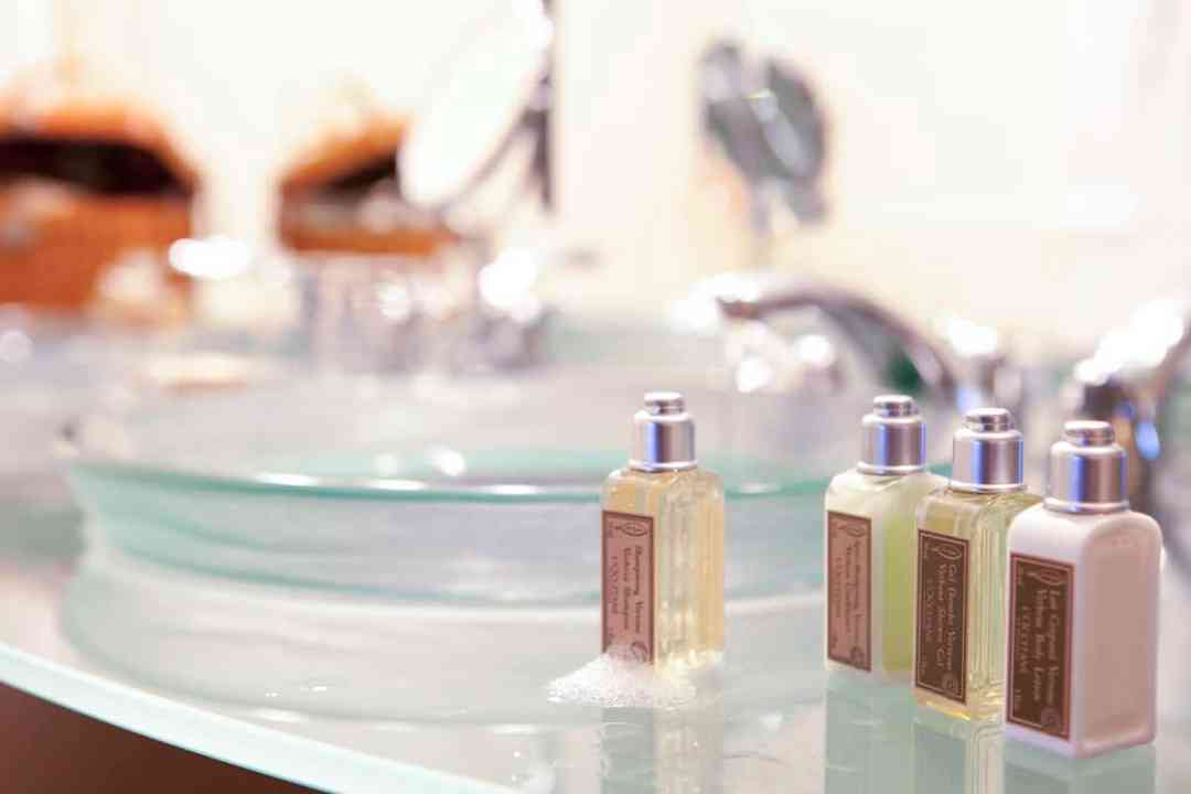 uxury amenities by L'Occitane