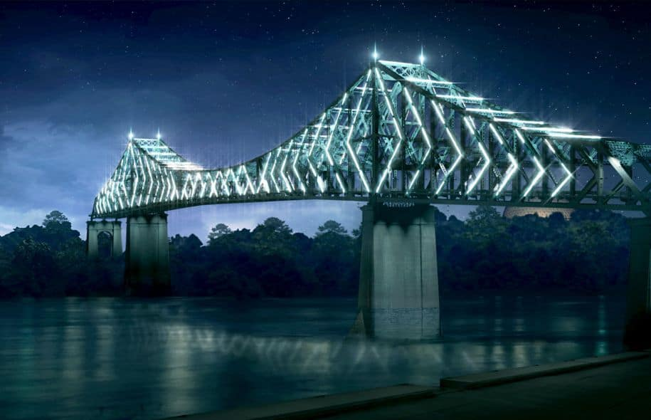 375th Anniversary -Living connexion Jacques Cartier bridge