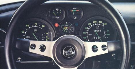 Alpine A110 Berlinette 1600 sx