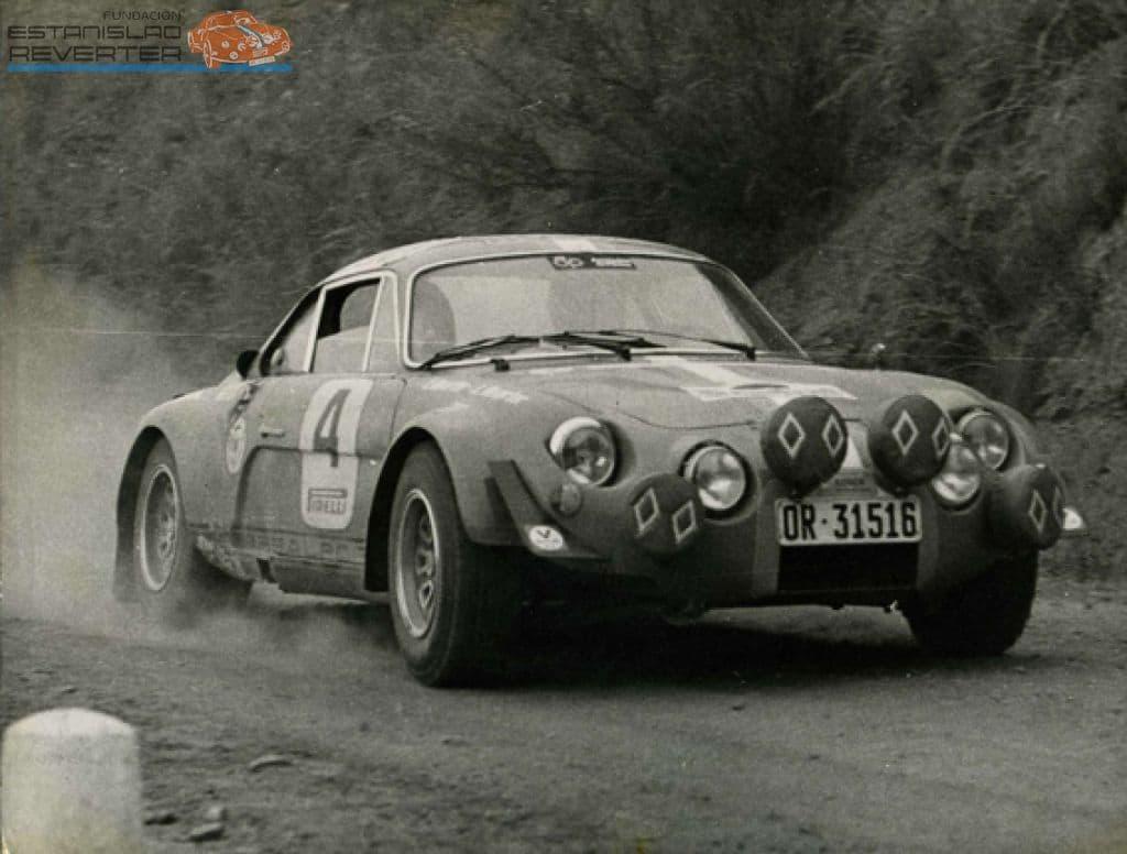Alpinche Estanislao Reverter Rallye 14 | Alpinche : quand l'Alpine A110 passe au Flat-6 Porsche !