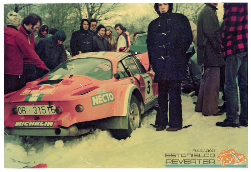 Alpinche Estanislao Reverter Rallye 9 | Alpinche : quand l'Alpine A110 passe au Flat-6 Porsche !