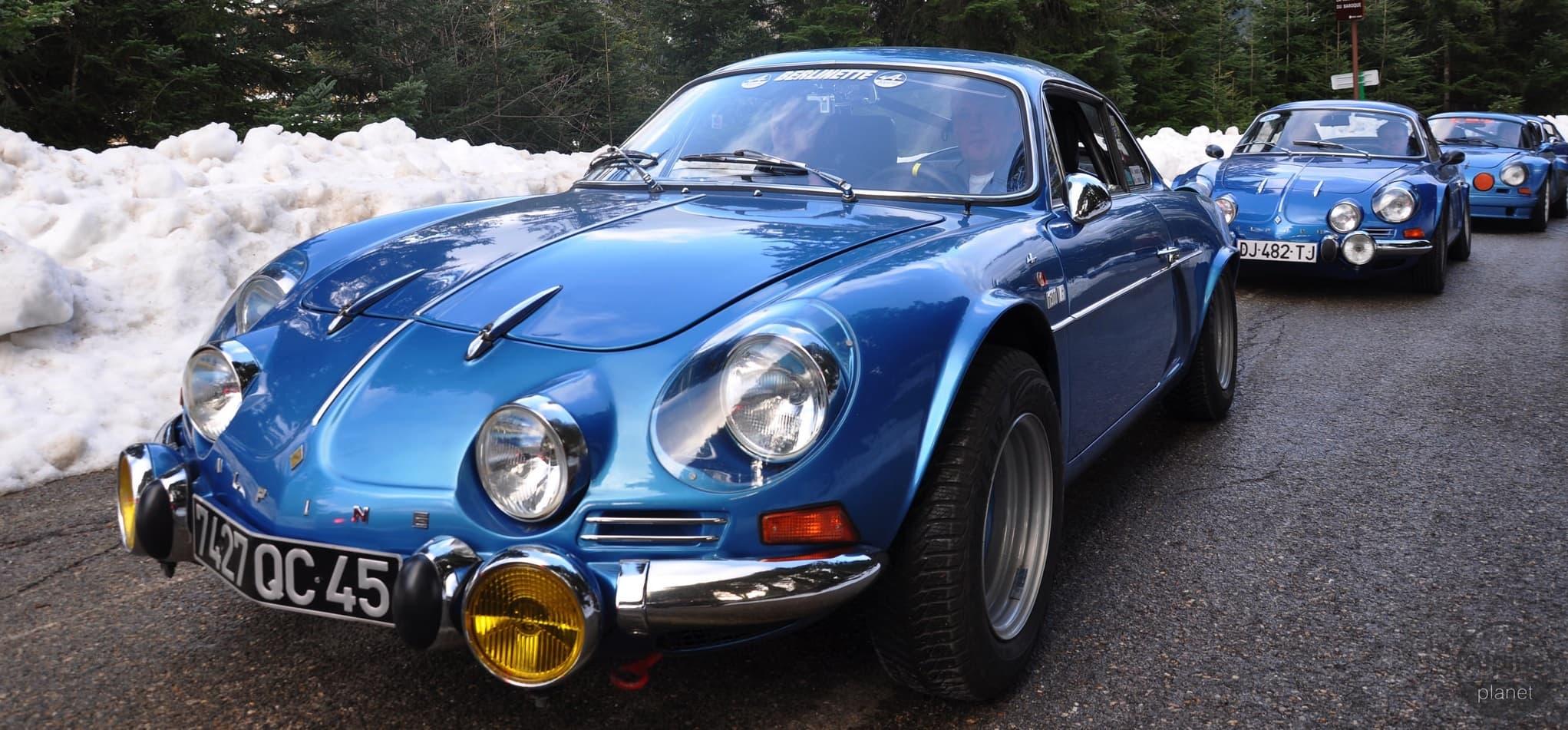 Alpine A110 Col de Turini