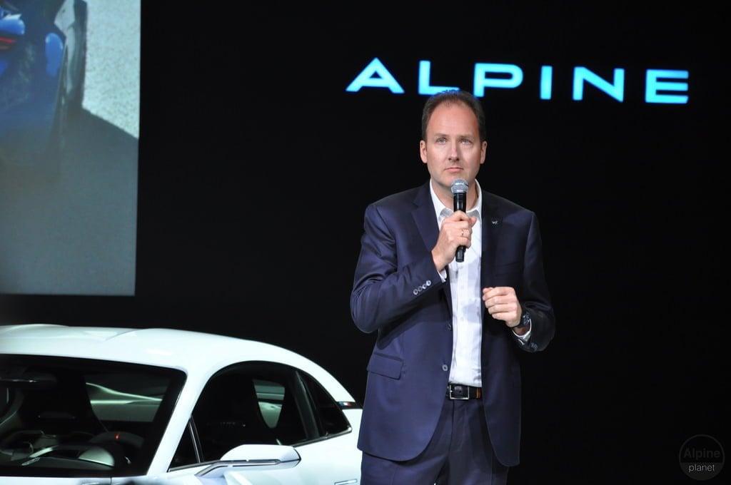 Conférence de presse Alpine Monaco 5 | Le 16 Février 2016 : le retour d'Alpine avec l'Alpine Vision !