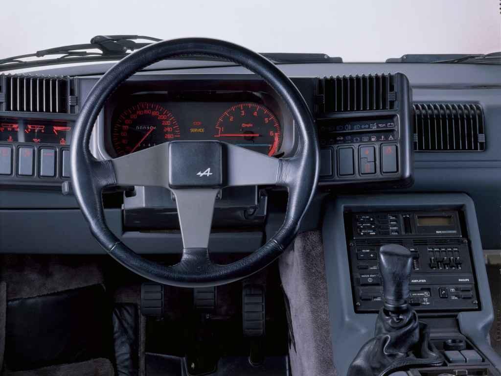 Alpine GTA V6 GT 5   ALPINE GTA GT V6 : le soufflé de Dieppe 1/2