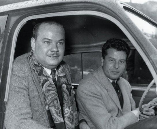 Rallye Monte-Carlo - Jean Rédélé et Marcel Delforge