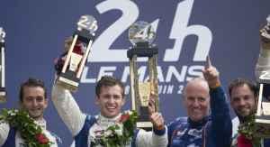 Podium Le Mans 216 Alpine